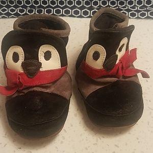 Robeez penguin booties